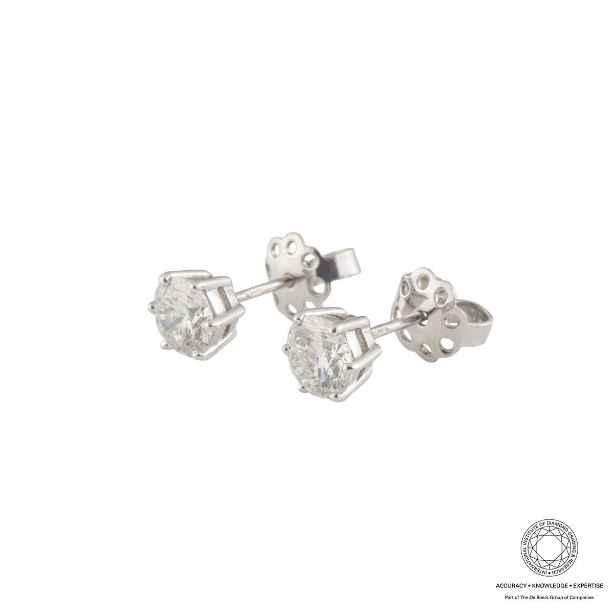 White Gold Diamond Jewellery Suite